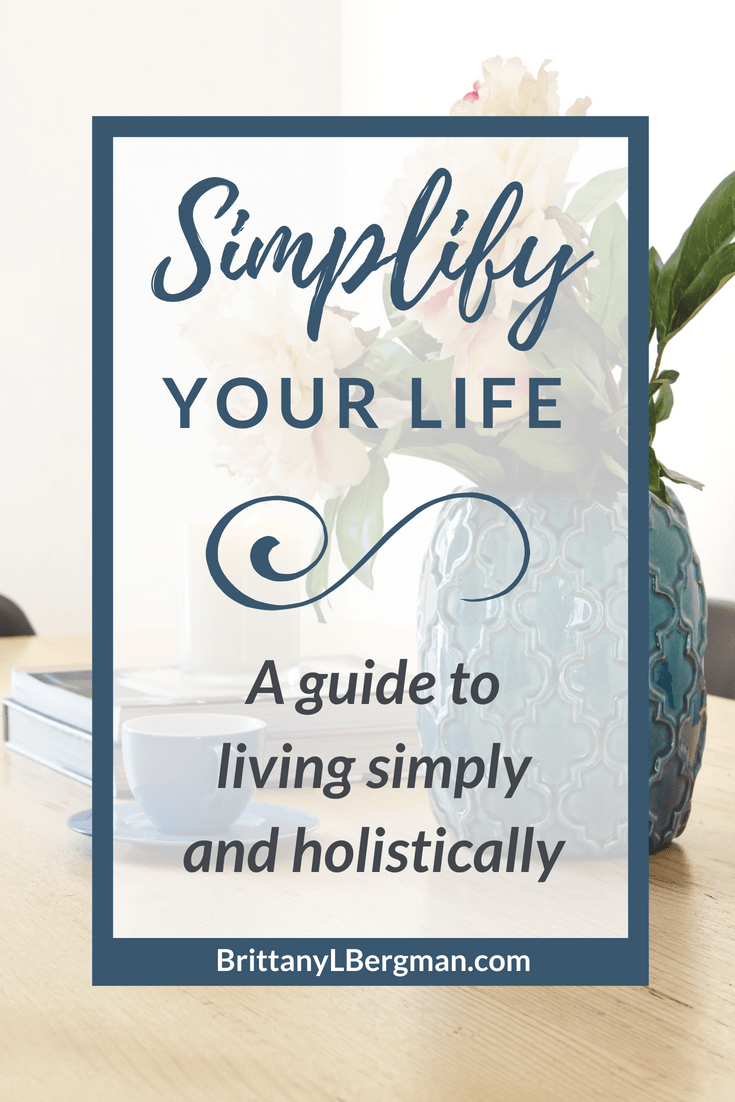 Are you tired of the hustle and clutter of your regular routine? In this series, learn how to simplify every area of your life.