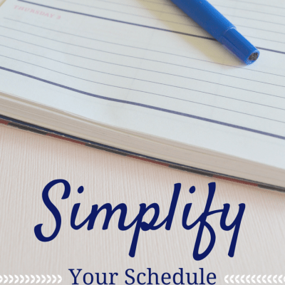 Simplify Your Schedule: A Guide to Prioritizing What Matters Most