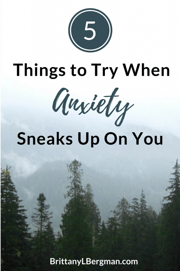 This is not a how-to post per se, but these 5 practices can help you overcome your anxiety moment by moment.