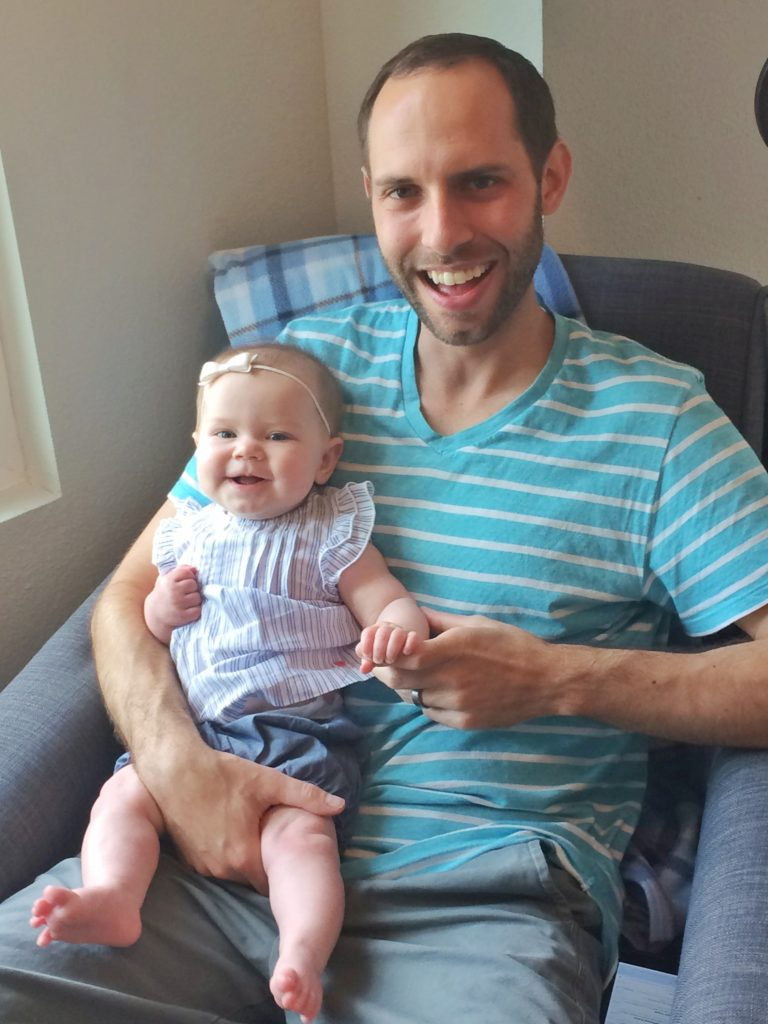 A letter to my husband on his first father's day 4