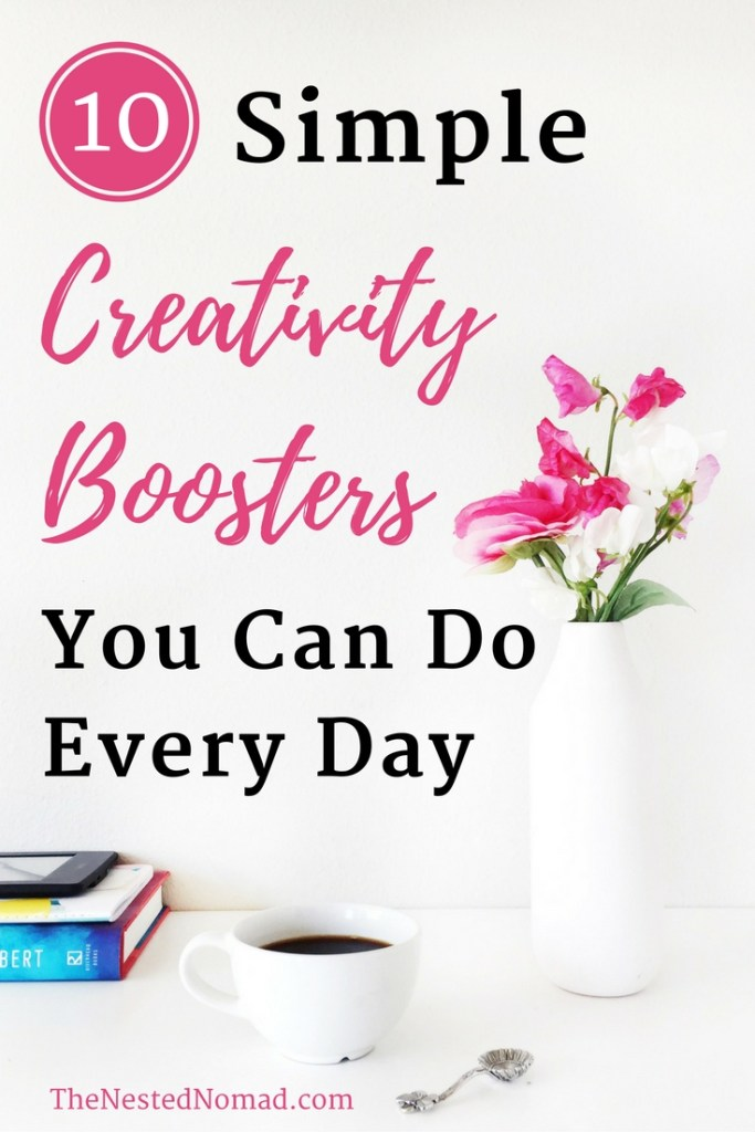 Are you stuck in a creative rut? Whether you're a writer, blogger, artist, photographer, designer, or any other type of busy creative, these 10 tips will help you fuel your creative genius every day.