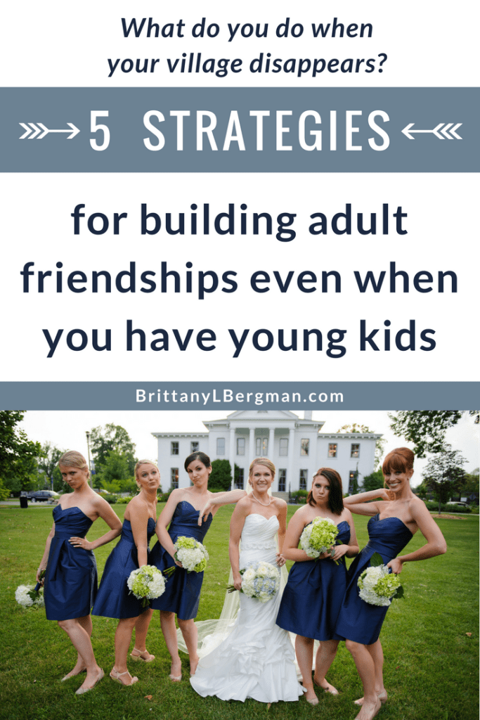 After college friendships fade, it can feel nearly impossible to make new friends as an adult, especially if you're a parent. These 5 strategies will help you overcome loneliness, find friends, and care for others well.