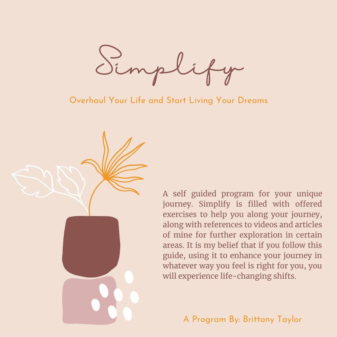 Brittany Taylor Simplify Program Cover Image
