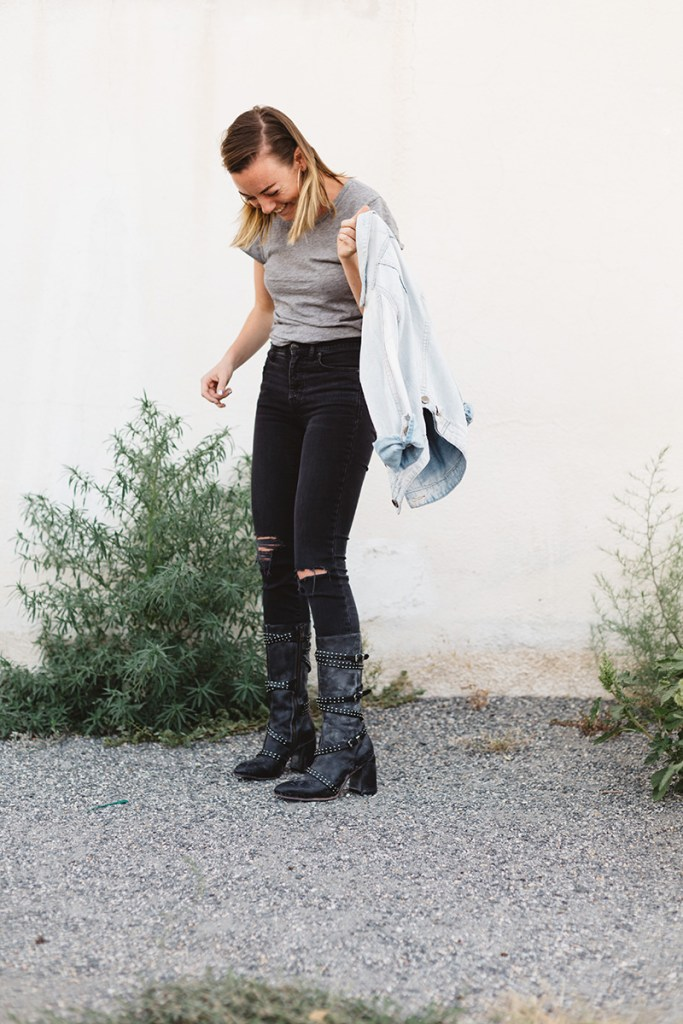 Brittni Bell Photo Denver Food and Lifestyle Photographer Black Boots Product 134