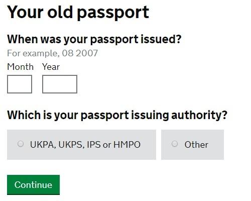 Renew Your British Passport Online Britzinoz