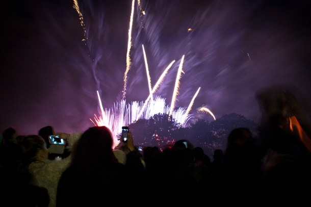 Brockwell Park Fireworks in Brixton, Lambeth. Picture by Alistair Hall