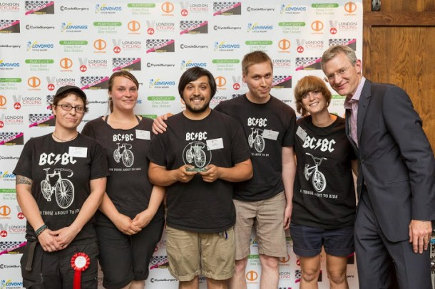 Brixton Cycles coop members receive award