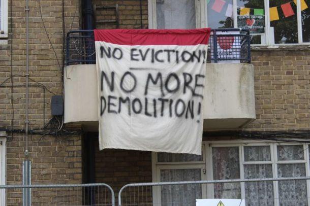 Loughborough Park Estate occupation