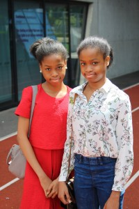 Twins Amarachi (left) and Onyinyechi Orie received outstanding results