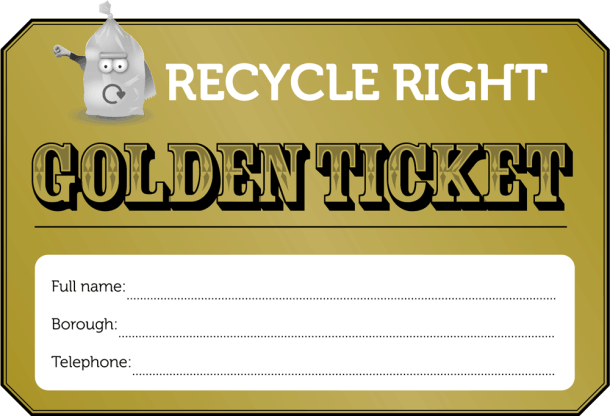 Recycling gold ticket