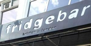 Fridge Bar sign