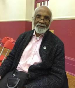 Clarence Thompson at Big Talk