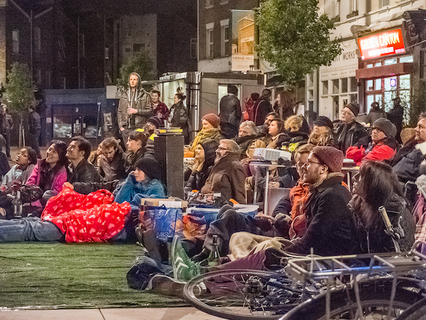 Herne Hill Free Film Festival 2015. Photo by Pierre Chukwudi Alozie