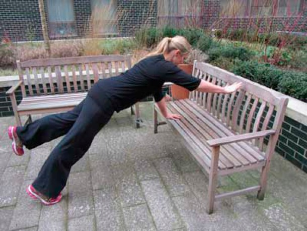Bench exercises