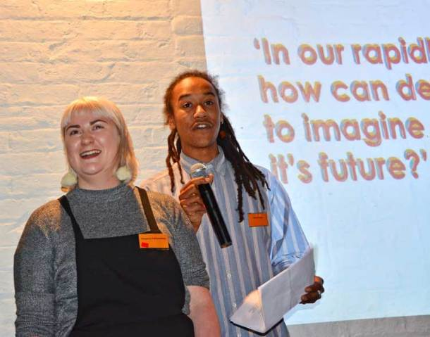 Flo Fair-weather and Oscar Taylor explain how young people will be involved