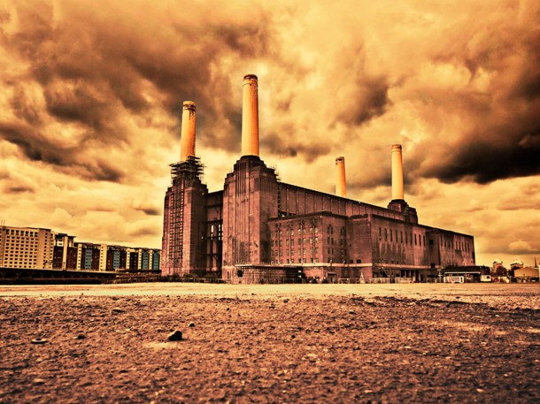 Land power and chimneys [lead photograph]