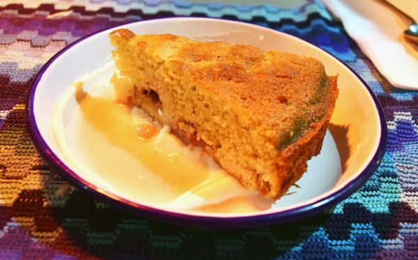 Rhubarb Yoghurt Cake Blue Jay