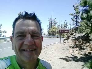 Stuart training in Tenerife