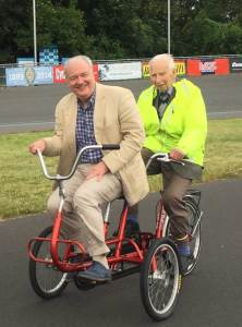 Wheels for Wellbeing tandem ride
