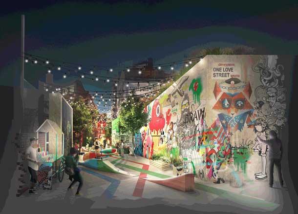 Brixton Street Gallery illustration