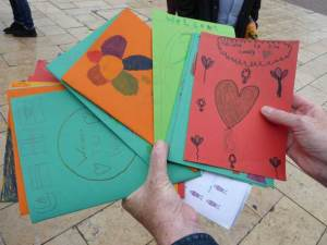 Letters from primary school pupils