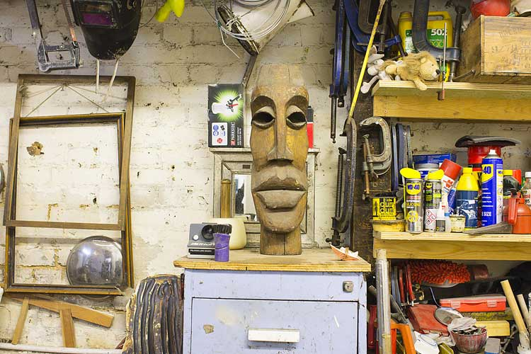 Open studios at Arches Brixton Creatives. picture: luke forsythe