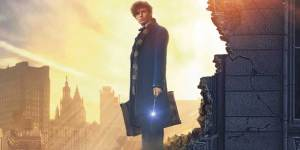 Film still from Fantastic Beasts and where to find them