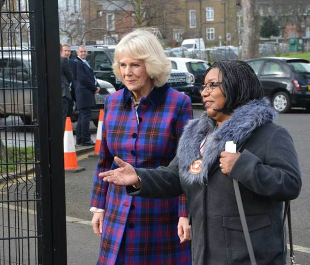 Colleen Harris, a deputy lieutenant for Greater London, welcomed the duchess to the club