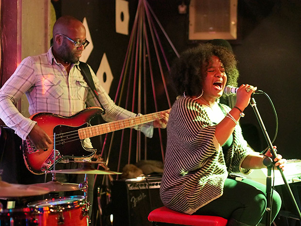 The westley joseph band play brixton s bar 414 as the for 17th floor band
