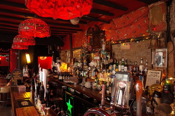 Take a drink at the delightfully retro Brown Derby pub in