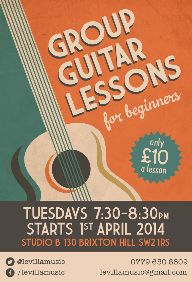 Group Guitar Lessons For Beginners