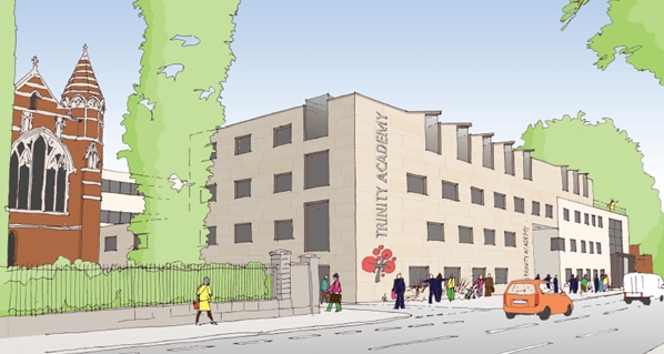 trinity academy free school releases fancy pictures of plans for new brixton hill building