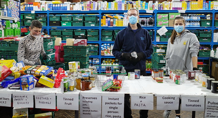Emergency Food Parcels in Lambeth increased by a staggering 127% in one year