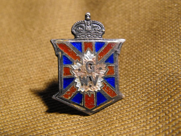 Great War Veteran Pin [CP17172] - $20.00 : Broad Arrow ...