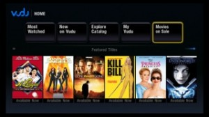Amino to integrate Vudu's VOD movie service