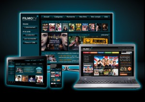 FilmoTV screens