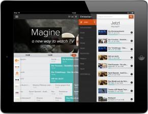 Magine TV iPad