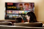 Netflix finds people pair TV and movies