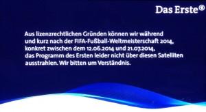 ARD ZDF caption World Cup 2014 Hot Bird