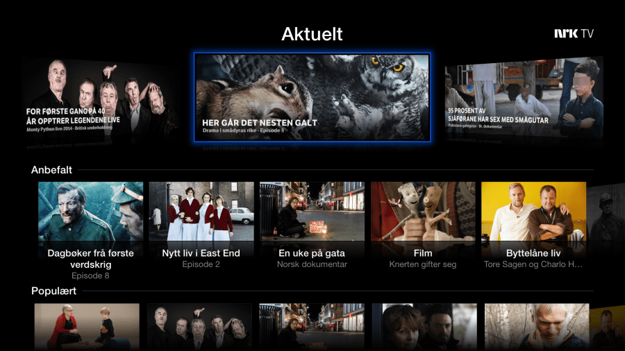 NRK on Apple TV