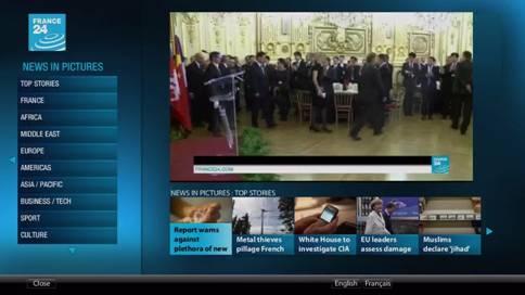 France24 on Tivo