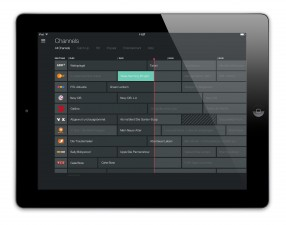 Magine TV_iPad_1