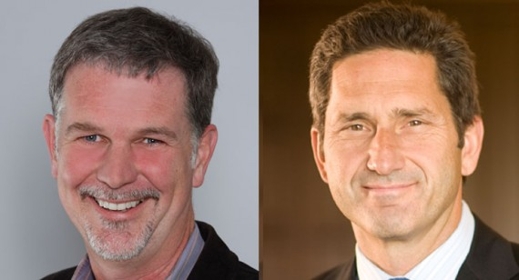 Reed Hastings & Mike Fries