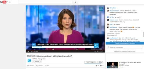 France24 on YouTube