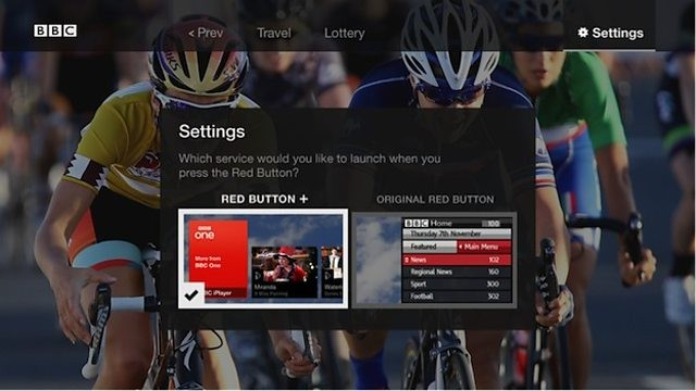 Connected Red Button