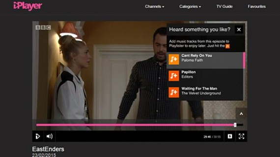 EastEnders on BBC Online