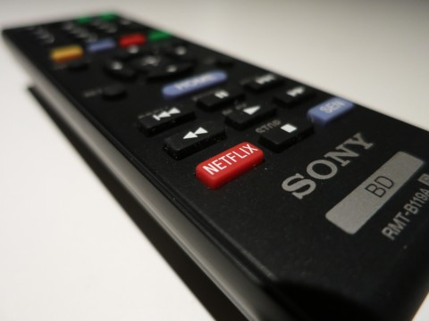 Netflix button on Sony remote