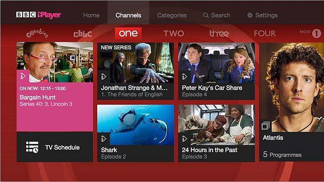 BBC iPlayer Channels