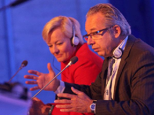 EBU President Jean-Paul Philippot