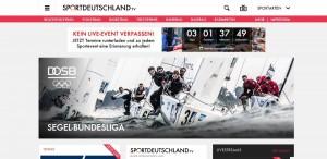Sportdeutschland tv screenshot